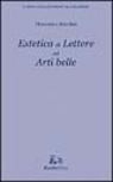 Estetica di lettere ed arti belle - Domenico Anzelmi pdf epub