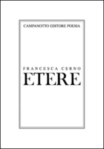 Etere - Francesca Cerno pdf epub