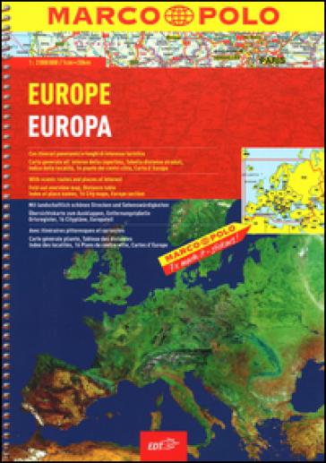 Europa-Europe. 1:2.000.000. Ediz. multilingue