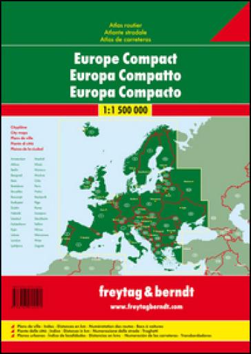 Europe atlante stradale