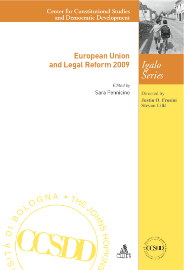 European union and legal reform 2009 - S. Pennicino |