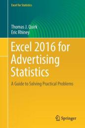 Excel 2016 for Advertising Statistics