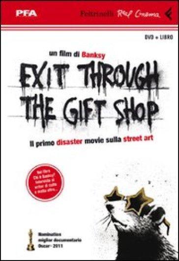 Exit through the gift shop. DVD. Con libro - Banksy  