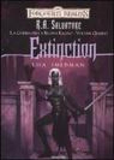 Extinction. La guerra della Regina Ragno. Forgotten Realms. 4. - Lisa Smedman   Rochesterscifianimecon.com