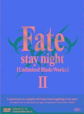 FATE/STAY NIGHT - UNLIMITED BLADE WORKS - STAGIONE (3 DVD)(ep.13-25)(limited edition box)
