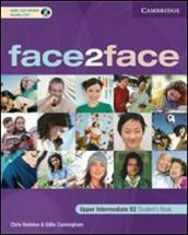 Face2face. Upper intermediate. Student