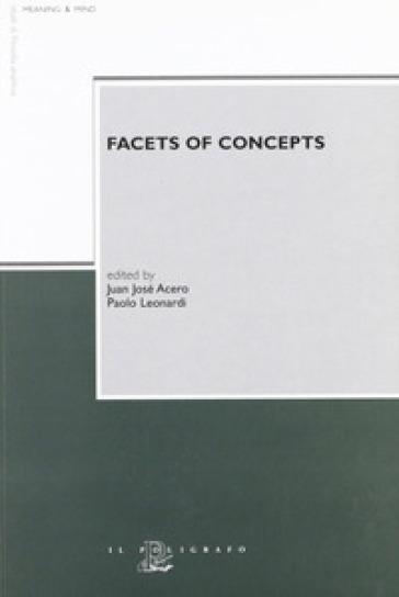 Facets of concepts - P. Leonardi  