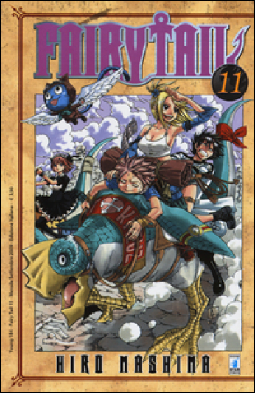 Fairy Tail. 11. - Hiro Mashima | Rochesterscifianimecon.com