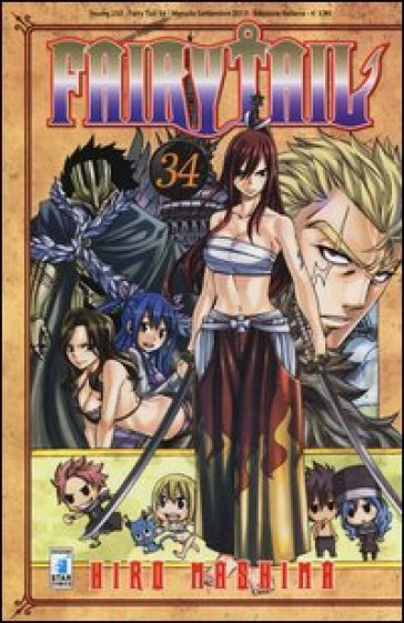 Fairy Tail. 34. - Hiro Mashima |