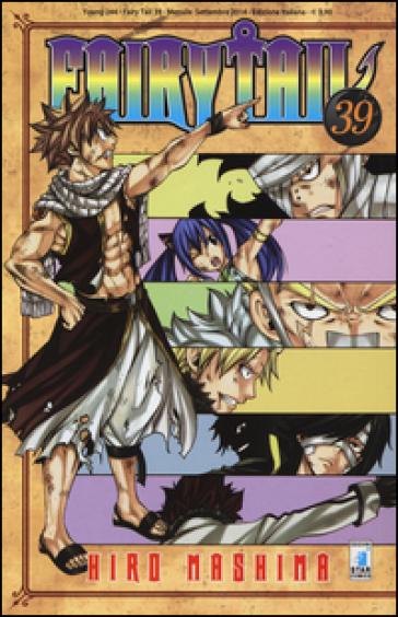 Fairy Tail. 39. - Hiro Mashima   Rochesterscifianimecon.com