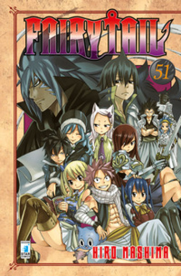 Fairy Tail. 51. - Hiro Mashima | Rochesterscifianimecon.com
