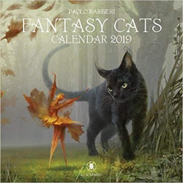 Fantasy cats. Calendario 2019