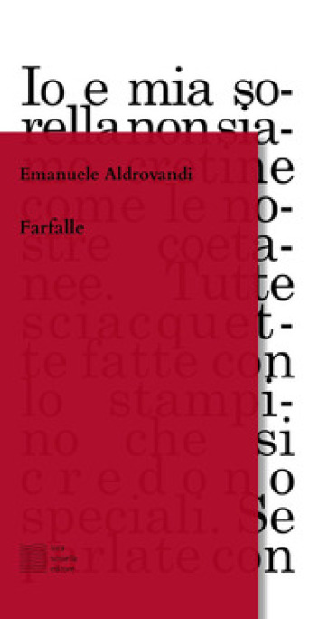 Farfalle - Emanuele Aldrovandi pdf epub