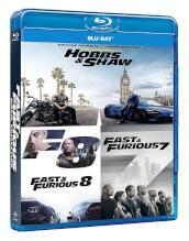 Fast & Furious Hobbs & Shaw Collection (3 Blu-Ray)