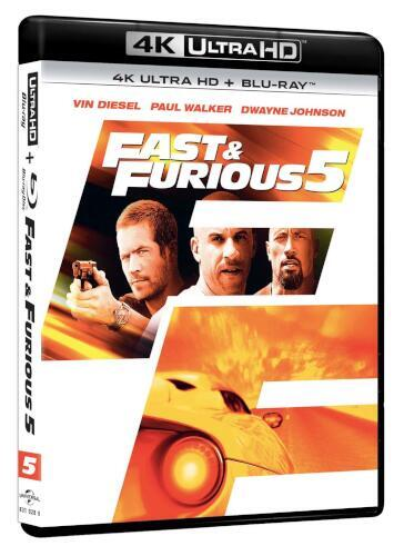 Fast & furious 5 (2 Blu-Ray)(4K UltraHD+Blu-ray)