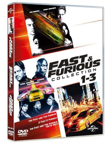 Fast & furious collection 1-3 (3 DVD)