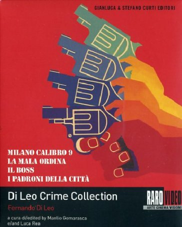 Fernando Di Leo - Di Leo Crime collection (4 Blu-Ray)(+booklet)