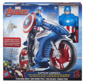 Figure Avengers Titain Hero+Veicolo Ass