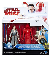 Figure Star Wars Rey e G. Pretoriana