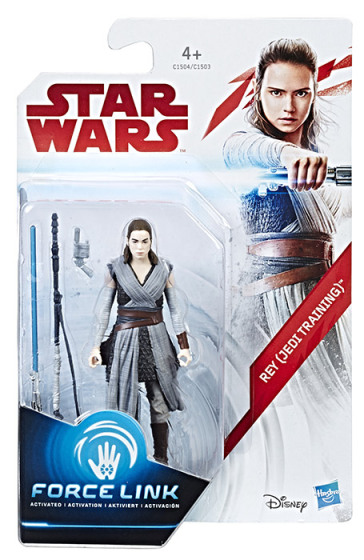 Figure Star Wars Rey Addestramento Jedi