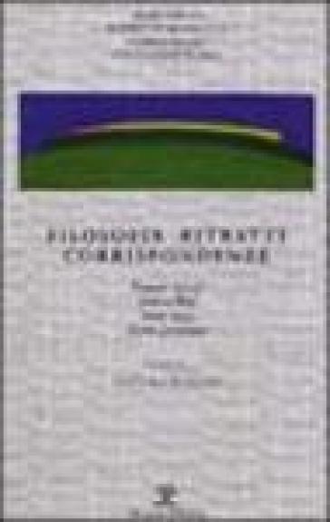 Filosofia ritratti corrispondenze -  pdf epub
