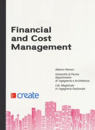 Financial and cost management - Alberto Petroni | Thecosgala.com