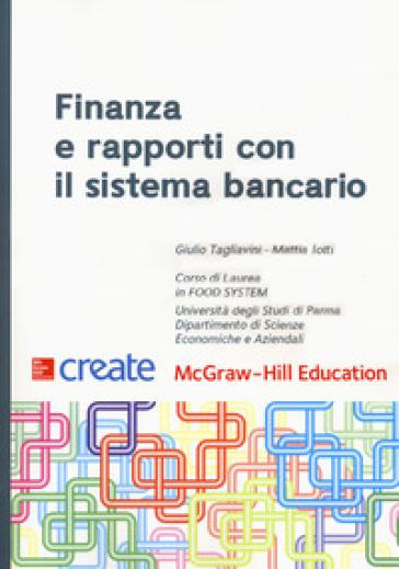 Finanza e rapporti con il sistema bancario - Giulio Tagliavini pdf epub