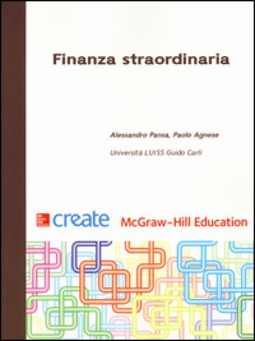 Finanza straordinaria - Alessandro Pansa pdf epub