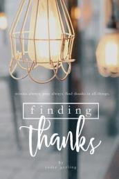 Finding Thanks