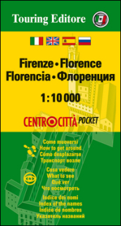 Firenze 1:10.000. Ediz. multilingue