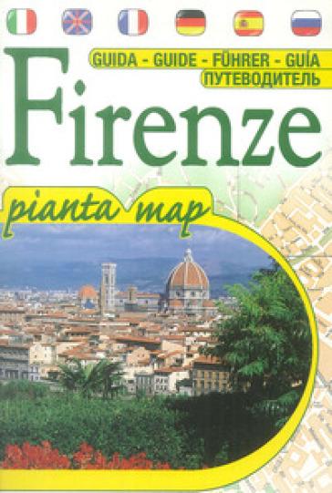 Firenze souvenir. Guida e mappa turistica. Con carta. Ediz. multilingue