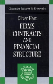 Firms, Contracts, and Financial Structure