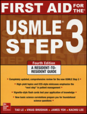 First aid for the USMLE. Step 3