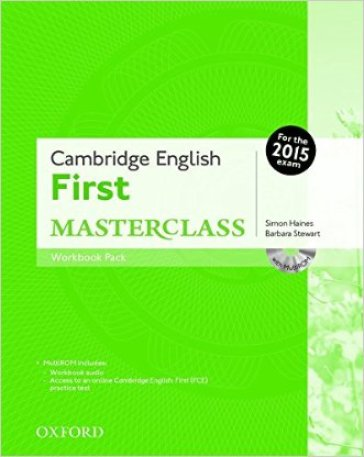 First masterclass. Workbook. Without key. Per le Scuole superiori. Con CD-ROM. Con espansione online