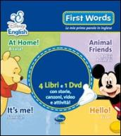 First words. Le mie prime parole in inglese. Con DVD (4 vol.)