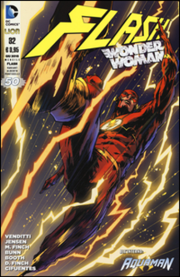 Flash. Wonder Woman. Variant 50 special. 32. - S. Formiconi  