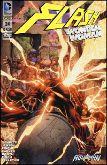Flash. Wonder woman. 24.