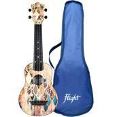 Flight: Ukulele soprano Granada in ABS (con borsa)