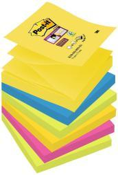 Foglietti per dispenser Post-it® Super Sticky Z-Notes colori RIO DE JANEIRO