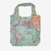 Foldable Bag - Funky Collection - Map