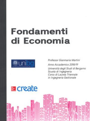 Fondamenti di economia - Gianmaria Martini pdf epub