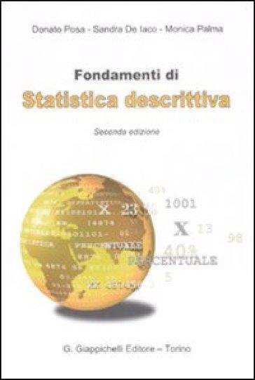 Fondamenti di statistica descrittiva - Donato Posa pdf epub