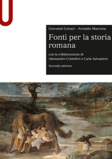Fonti per la storia romana - Giovanni Geraci |