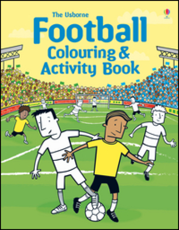 Football colouring activity book