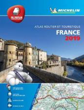 France 2019 - Tourist & Motoring Atlas Multi-flex