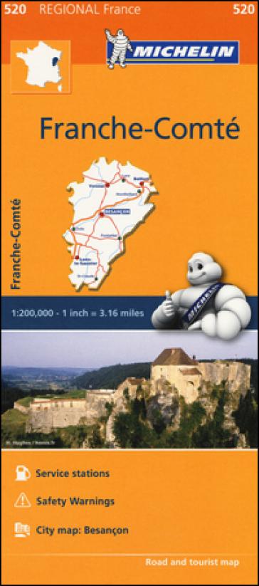 Franche-Comté 1:200.000