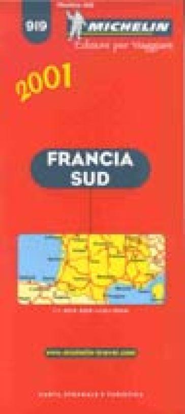 Cartina Stradale Francia Michelin.Francia Sud Carta Stradale E Turistica Michelin 1 1 000 000