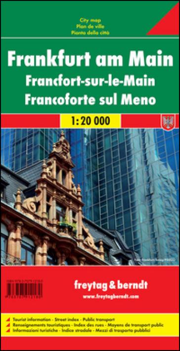 Francoforte sul Meno 1:20.000