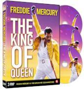 Freddie Mercury - The king of Queen (3 DVD)(lingua inglese) (tiratura limitata)
