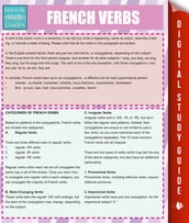 French Verbs (Speedy Study Guides)